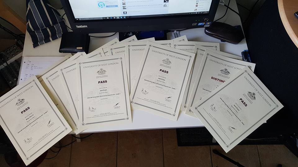 UWLLCM Certificates